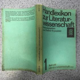 Handlexikon zur Literaturwissenschaft  1