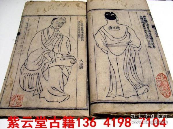 【清】中国最早的。中医;恶性肿瘤;临床疹断图【外科正宗3】  #4994