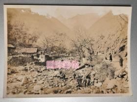 民国早期陕西褒城樊河铁索桥