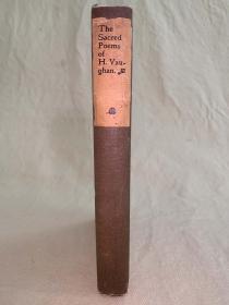 山谷珍本:The Sacred Poems of Henry Vaughan Silurist《志留纪诗集》