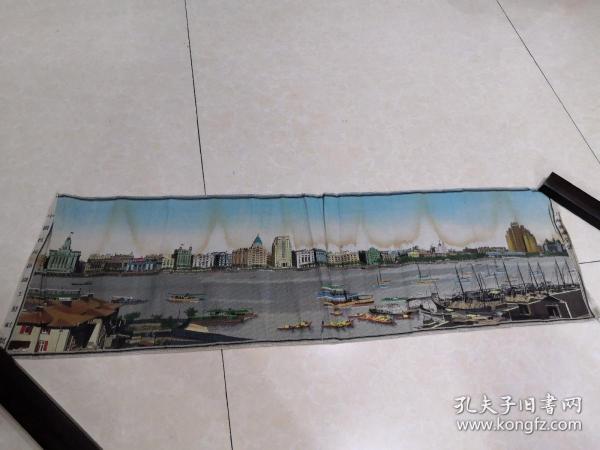 上海黄浦全景(五十年代末丝织)