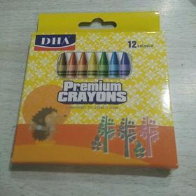DHA蜡笔 12色
