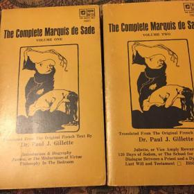 The complete marquis de Sade volume one&two