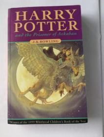 Harry Potter and the Prisoner of Azkaban(包正版)哈利波特