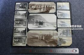 民国时期香港航空飞行俱乐部学校老照片一组19张