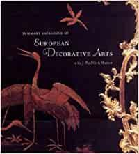 Summary Catalogue of European Decorative