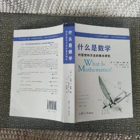 什么是数学:对思想和方法的基本研究(第4版)【实物拍照现货正版】
