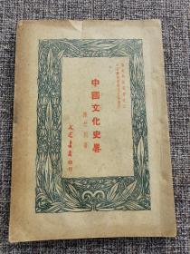 《中国文化史略》