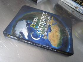 National Geographic:Compact Atlas of The World【 48开 英文原版】(国家地理:世界紧凑地图集)