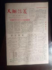 老报纸:天湖浪花(1987年11月26日)