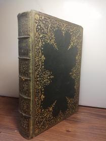 1834年 POEMS BY SAMUEL ROGERS  含大量精美插图    漂亮烫金全皮装帧  三面刷金  内页干净  20.3X14.2CM  有一副藏书票