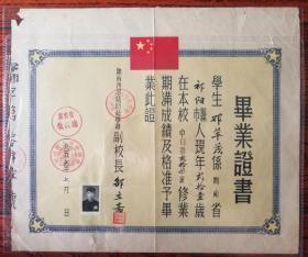 57年毕业证