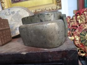 品相一流清代铜手炉