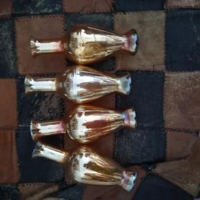 玻璃瓶4个