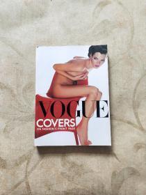 vogue covers《英文〈时尚〉杂志各时期的封面》 (16开彩版,品好)