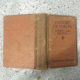 HISTORY OF EUROPE ANCIENT  ANDMEDIEVAL