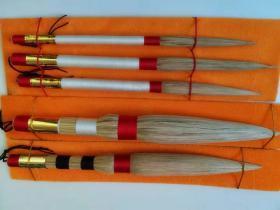 (特中单支)陈白沙茅龙笔 茅草笔 套装茅龙笔 书法笔 陈白沙白茅笔