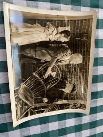 民国时期外国电影剧照 三楼的陌生人  黑白照片28大张