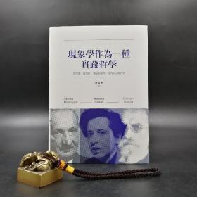 台湾联经版   汪文圣《现象学作为一种实践哲学》(精装)