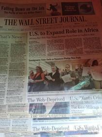 THE WALL STREET JOURNAL 过期华尔街日报随机打包发货 外文原版报纸
