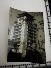 原国家民委专家张红、段星光旧藏老照片1张毛主席万岁