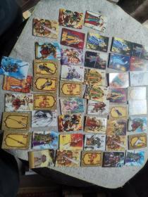 华丰魔法士(三国卡)56张合售 有重复