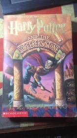 正版   Harry Potter and the Sorcerer's 哈利波特与魔法石 [英文版]一版一印