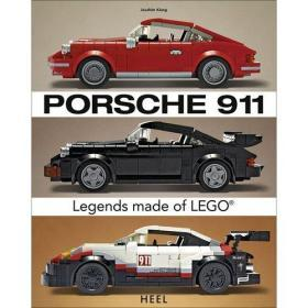 Porsche 911 Legends Made of LEGO®
