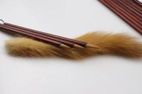 【禅意】手工纯狼毫蝇头小楷毛笔书法专用抄经笔勾线用笔