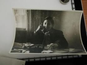 原国家民委专家张红、段星光旧藏老照片1张 1961年 星光