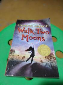 无悔追寻英文版,Walk Two Moons,纽伯瑞获奖,瑕疵如图,介意勿拍,包邮