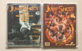 jump shoot 96.98年公牛夺冠杂志
