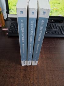 公司法的观念与解释(全三册)