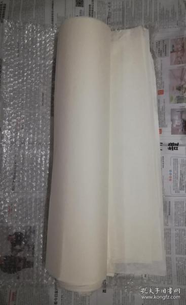 八九十年代安徽三尺老宣纸41张,纸厚实檀料重