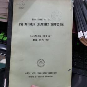 PB报告书(美国政府研究报告)proceedings of the protactinium chemistry symposium(P3433)