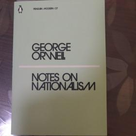 Notes on Nationalism民族主义者笔记