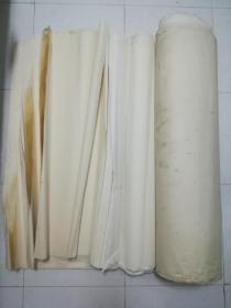 八十年代安徽老宣纸100张,檀料重,书画装裱修补都可以用,低价卖了