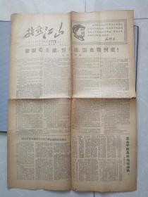 文革小报  指点江山(第八期)4开4版