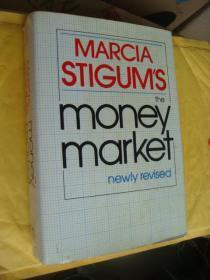 the money market (newly revised) 英文原版 布脊革面+书衣 16开 厚本