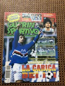 原版足球杂志 意大利体育战报1994 2期 附1986世界杯故事薄册