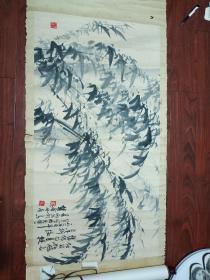 浙江书画家:夏雨1988年八月画