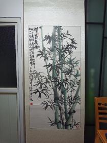 著名画家林忠阳 墨竹(卖家保真)