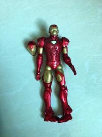 Iron Man 钢铁侠—— 1:12(无原配底座), 红色铁人——托尼·斯塔克 ★ 【marvel select 钢铁侠】 7寸可动人偶 玩具公仔 @斯坦·李,杰克·科比 / 漫威漫画, 企划·制作:MARVEL,発壳:DST