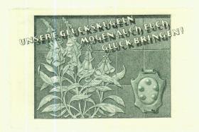 奥地利已故铜版雕刻大师图博尔藏书票原作28