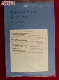 INTERNATIONAL ECONOMIC REVIEW (IER)2014/11国际经济评论杂志