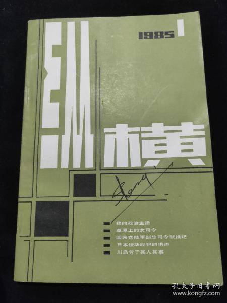 纵横1985年1