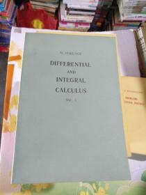 DIFFERENTIAL AND INTEGRAL CALCULUS VOL.l.