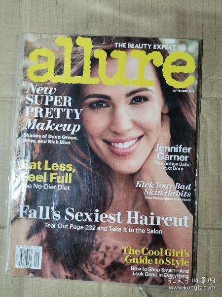 allure 美容杂志 2013年9月 英文版