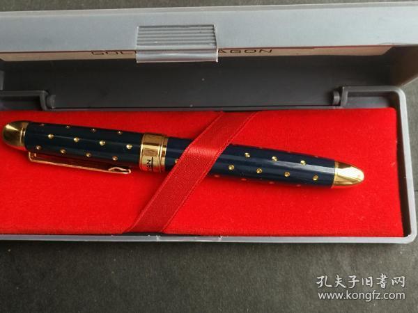 gentleman golden dragon 绅士金龙钢笔(俗称满天星丹东金笔厂出品墨绿款)