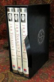 The Lord of the Rings, 1992 UK Three Volume Set, with Custom Leather Slipcase